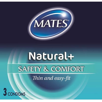 Picture of Mates Natural Condoms 3 Pack