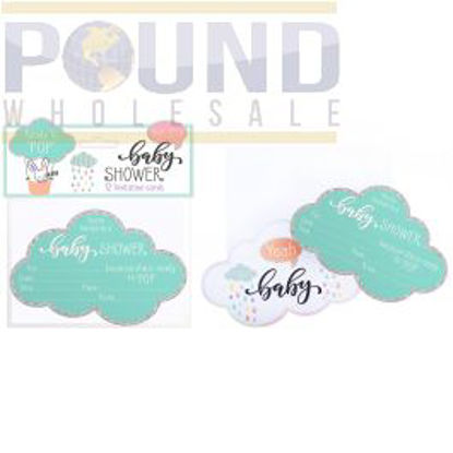 Picture of BABY SHOWER INVITATION CARDS 12 PACK