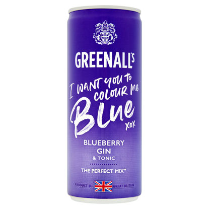 Picture of Greenall's Blueberry Gin & Tonic 250ml