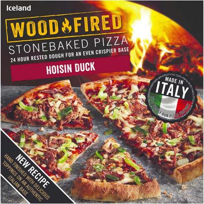 Picture of Iceland Stonebaked Hoisin Duck Pizza 368g