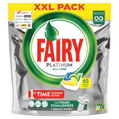 Picture of Fairy Platinum Lemon Dishwasher 65 Tabs 878G