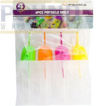 Picture of PRIMA POPSICLE MOULD ASSORTED 4PC