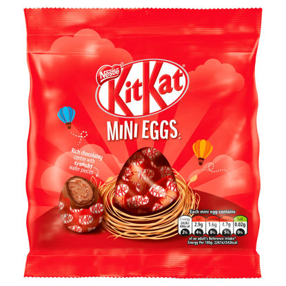 Picture of Kit Kat Milk Chocolate Filled Mini Eggs Pouch 81g