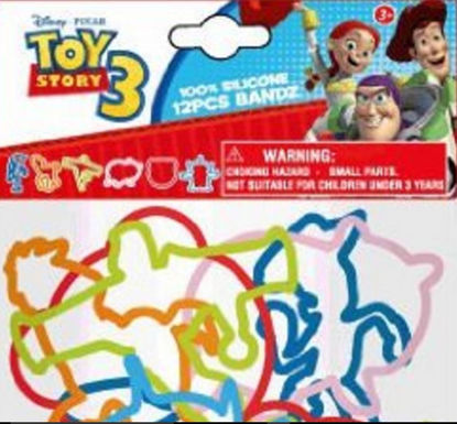 Picture of Disney Toy Story 3 Series Bands  - 100% Silicone