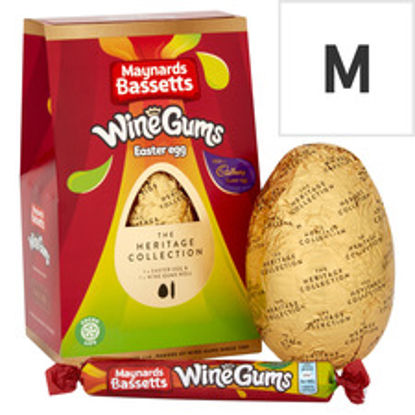 Picture of Cadbury Wine Gums Chocolate Shell Egg 162G