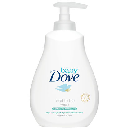 Picture of Baby Dove Sensitive Moisture Fragrance Free Wash 400 Ml