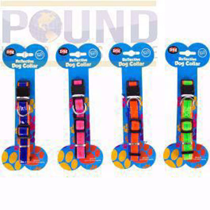 Picture of WORLD OF PETS COLLAR REFLECTIVE DOG