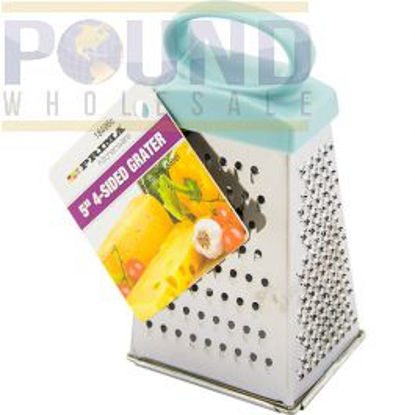 """Picture of PRIMA 4-SIDED STAINLESS STEEL GRATER 5"""""""