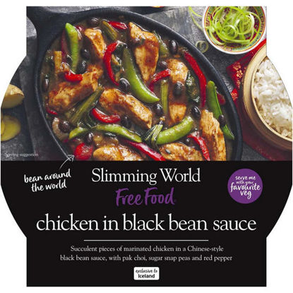 Picture of Slimming World Chicken in Black Bean Sauce 500g
