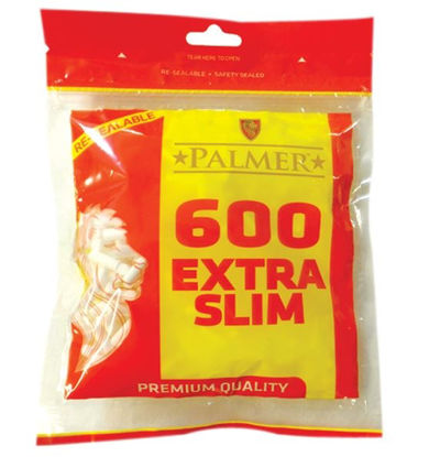 Picture of Palmer Premium Quality Extra Slim Filter Tips - Pack of 600 Filter Tips
